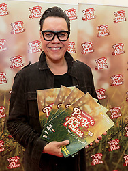 Gok Wan attends  Party At The Palace Music Festival in Linlithgow Palace grounds on Sunday 14th August 2016.<br /> <br /> Alan Rennie/ EEm