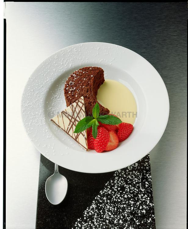 devils food cake desert by Gail Gand desert