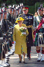 Queen attends Ceremony of the Keys - 02 July 2018
