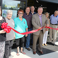 RAY VAN DUSEN/BUY AT PHOTOS.MONROECOUNTYJOURNAL.COM<br /> A ribbon cutting ceremony was held for Aberdeen's second Dollar General location, located at the intersection of Highway 25 and Meridian Street.