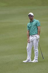 October 12, 2018 - Kuala Lumpur, Malaysia - Paul Casey of England looks on his ball during the second round of 2018 CIMB Classic golf tournament in Kuala Lumpur, Malaysia on October 12, 2018. (Credit Image: © Zahim Mohd/NurPhoto via ZUMA Press)