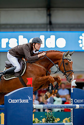 Morsink Gerben (NED) - Callisto Z <br /> FEI World Breeding Jumping Championship - Lanaken 2013<br /> © Dirk Caremans
