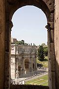 Italy, Rome, Arco di Costantino