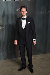 Tate Modern, London, April 26th 2017. Jeremy Irvine arrives at the Tate Modern in London for the 'Lost In Space' 60th anniversary event for the Omega Speedmaster watch.