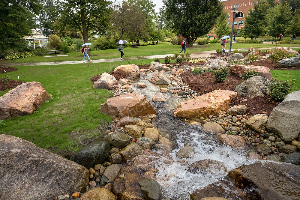 First day of Fall semester on the campus of Central Michigan University on August 28, 2017. Photo by Steve Jessmore/Central Michigan University.