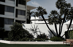 beverly hilton hotel, beverly hills--exterior and interior