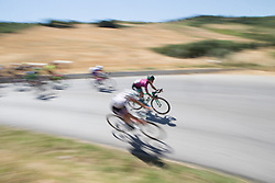 Katarzyna Niewiadoma (POL) of WM3 Pro Cycling Team descends in the third lap of Stage 6 of the Giro Rosa - a 116.1 km road race, starting and finishing in Roseto Degli Abruzzi on July 5, 2017, in Teramo, Italy. (Photo by Balint Hamvas/Velofocus.com)