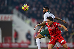 February 22, 2019 - Dijon, France - Yann M Vila ( Saint Etienne ) - Chang Hoon Kwon  (Credit Image: © Panoramic via ZUMA Press)