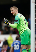 Football - 2018 / 2019 Premier League - Everton vs. Arsenal<br /> <br /> Everton keeper Jordan Pickford, at Goodison Park.<br /> <br /> COLORSPORT/ALAN MARTIN