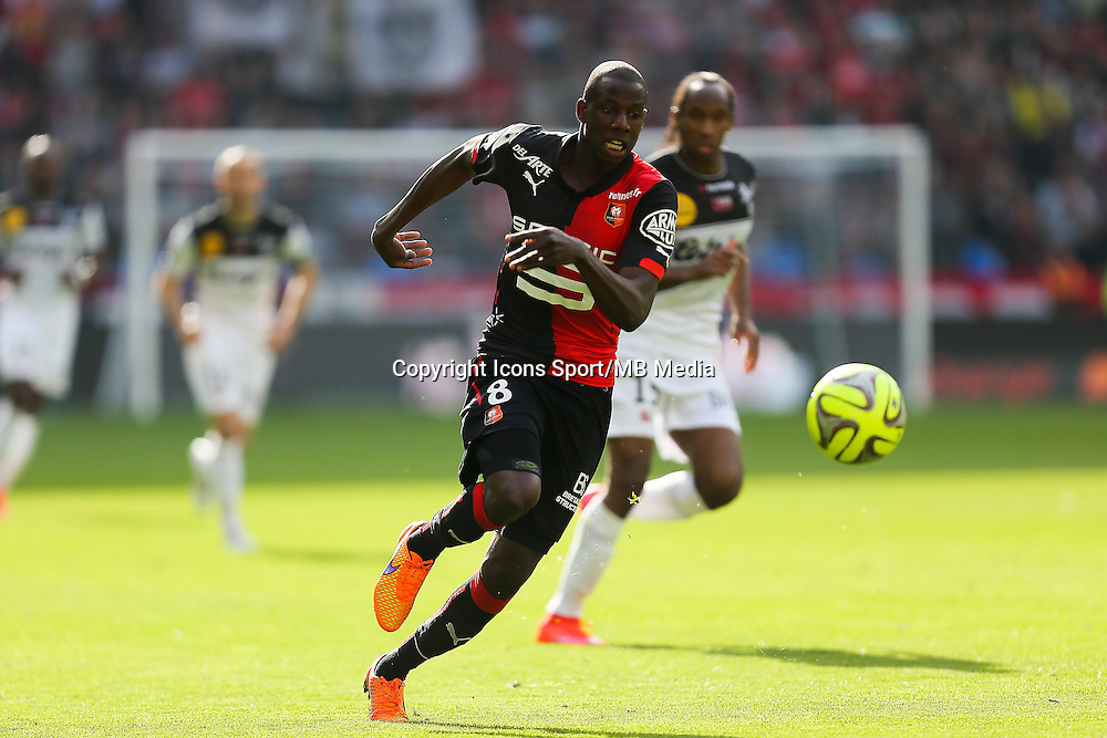 Abdoulaye DOUCOURE - 12.04.2015 - Rennes / Guingamp - 32eme journee de Ligue 1 <br /> Photo : Vincent Michel / Icon Sport