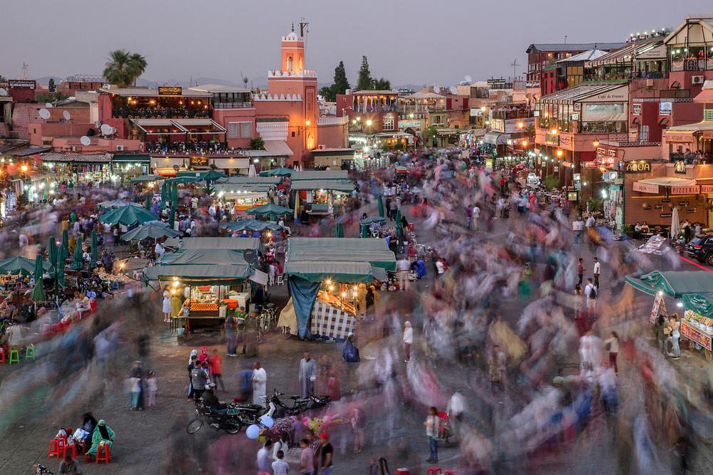 North Africa; Africa; African; Morocco; Moroccan; Marrakech,  Jemaa el-Fnaa