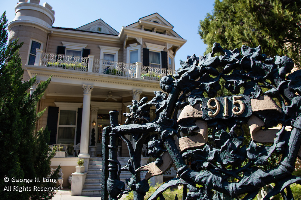 Cornstalk Fence Hotel; 915 Royal Street in the French Quarter of New Orleans, Louisiana