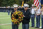 Honor Roll/Wreath/Gun Salute/Bugler