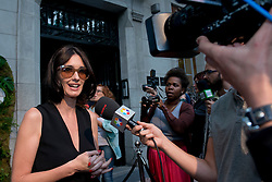 Image ©Licensed to i-Images Picture Agency. 24/06/2014. Madrid. Spain. Spanish Actress Paz Vega attends the 'House of Sun' Pop-Up Boutique and Sunglases Hut promotional party and photocall in Madrid. SPAIN (MADRID). Picture by Oscar Gonzalez / i-Images<br /> <br /> SPAIN OUT
