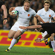William Servat, France, in action during the New Zealand V France Final at the IRB Rugby World Cup tournament, Eden Park, Auckland, New Zealand. 23rd October 2011. Photo Tim Clayton...