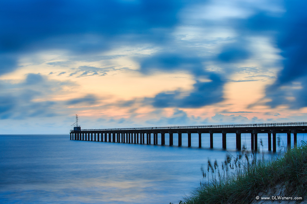 The Army Corps of Engineers Research Pier in Duck NC is the longest research pier in the world.