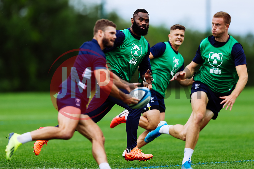 Semi Radradra in action as Bristol Bears start to use their new almost completed Training centre - Rogan/JMP - 08/07/2020 - RUGBY UNION - Beggar Bush Lane - Bristol, England.