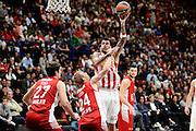 DESCRIZIONE : Milano Euroleague 2015-16 EA7 Emporio Armani Milano - Olympiacos Piraeus<br /> GIOCATORE : Georgios Printezis<br /> CATEGORIA : tiro gancio<br /> SQUADRA : Olympiacos Piraeus<br /> EVENTO : Euroleague 2015-2016<br /> GARA : EA7 Emporio Armani Milano - Olympiacos Piraeus<br /> DATA : 30/10/2015<br /> SPORT : Pallacanestro<br /> AUTORE : Agenzia Ciamillo-Castoria/Max.Ceretti<br /> Galleria : Euroleague 2015-2016 <br /> Fotonotizia: Milano Euroleague 2015-16 EA7 Emporio Armani Milano - Olympiacos Piraeus