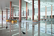 Empty airport at the new capital. The airport was officially opend in 9 December 2011 but still remains largely unused. Nap Pyi Taw, Myanmar. 2012
