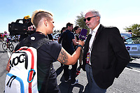 Brian COOKSON (Gbr) UCI President, Interview Press Journalist Media, during the 15th Tour of Qatar 2016, Stage 2, Qatar University - Qatar University (145,5Km), Test Event Doha Road World Championships 2016, on February 9, 2016 - Photo Tim de Waele / DPPI