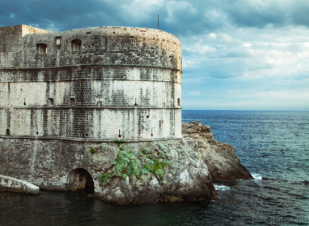 Fort Bokar (Zvjezdan) was built in 1463 by Michelozzo to protect the Pila Gate at the western fortified entrance of Dubrovnik, Croatia.<br /> <br /> Dubrovnik serves as the official setting of &quot;King's Landing&quot; from the popular TV show &quot;Game of Thrones&quot;.
