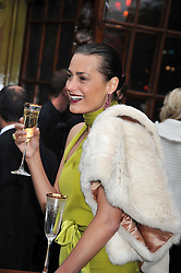 YASMIN LE BON at the Raisa Gorbachev Foundation fourth annual fundraising gala dinner held at Stud House, Hampton Court, Surrey on 6th June 2009.