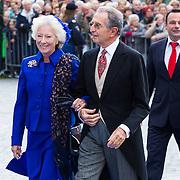 NLD/Apeldoorn/20130105 - Huwelijk prins Jaime en prinses Viktoria Cservenyak,