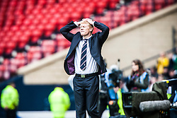 Falkirk manager Gary Holt..Hibernian 4 v 3 Falkirk, William Hill Scottish Cup Semi Final, Hampden Park..©Michael Schofield...