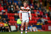 Bradford Bulls scrum half Cory Aston (41)  during the Kingstone Press Championship match between Dewsbury Rams and Bradford Bulls at the Tetley's Stadium, Dewsbury, United Kingdom on 10 September 2017. Photo by Simon Davies.