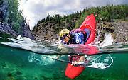 Ed Cornfield, kayaking, Sjoa River, Norway