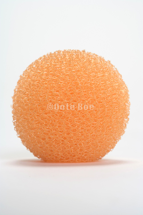 a round made of plastic object