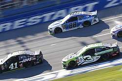 October 14, 2018 - Talladega, Alabama, United States of America - Austin Dillon (3) battles for position during the 1000Bulbs.com 500 at Talladega Superspeedway in Talladega, Alabama. (Credit Image: © Justin R. Noe Asp Inc/ASP via ZUMA Wire)
