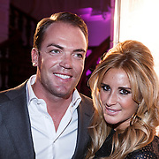 NLD/Amsterdam/20131111 - Beau Monde Awards 2013, Robert Doornbos en partner Chantal Bles