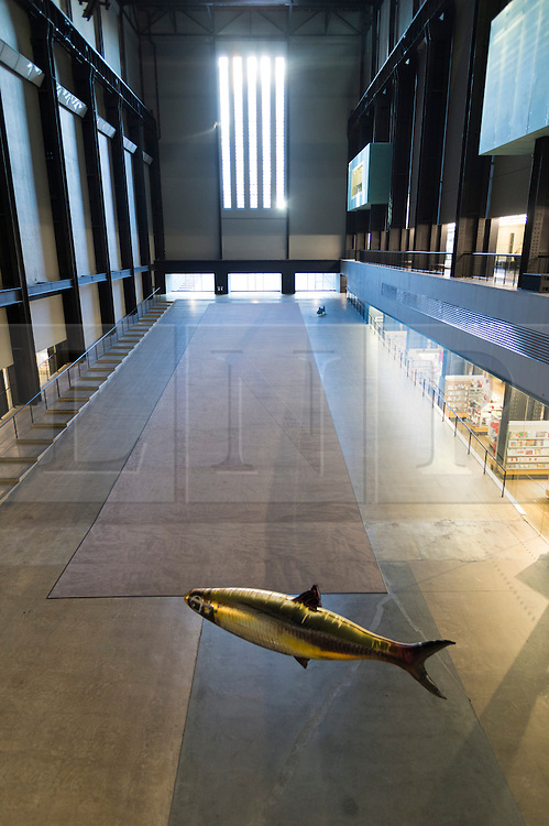© Licensed to London News Pictures. 03/10/2016. Hyundai commission titled 'Anywhere' in the Tate Modern Turbine Hall London, UK. Photo credit: Ray Tang/LNP