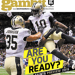 Gambit - Cover - Saints Preview - Brandon Cooks - September 2015