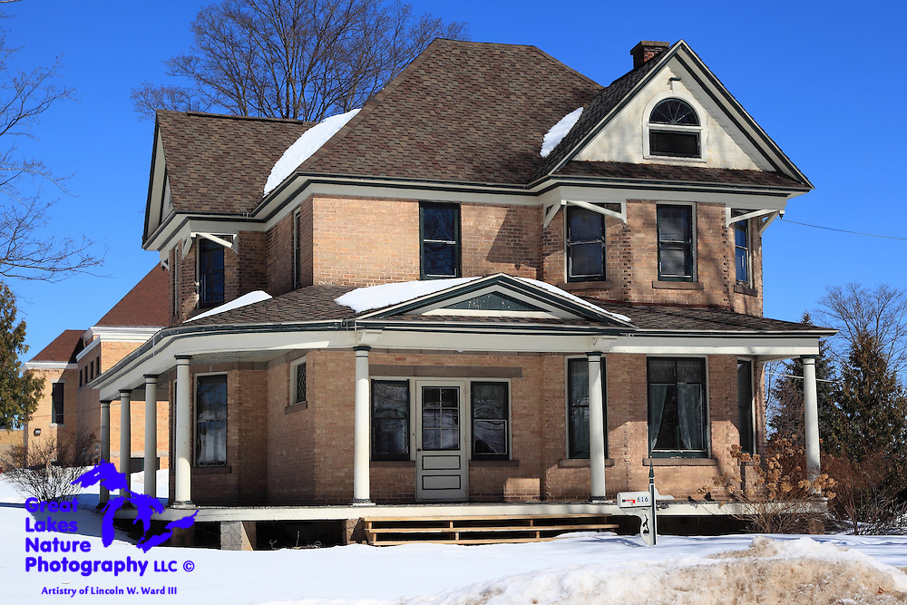 As is the case with Calumet and Laurium, Crystal Falls also has many well-preserved old homes.
