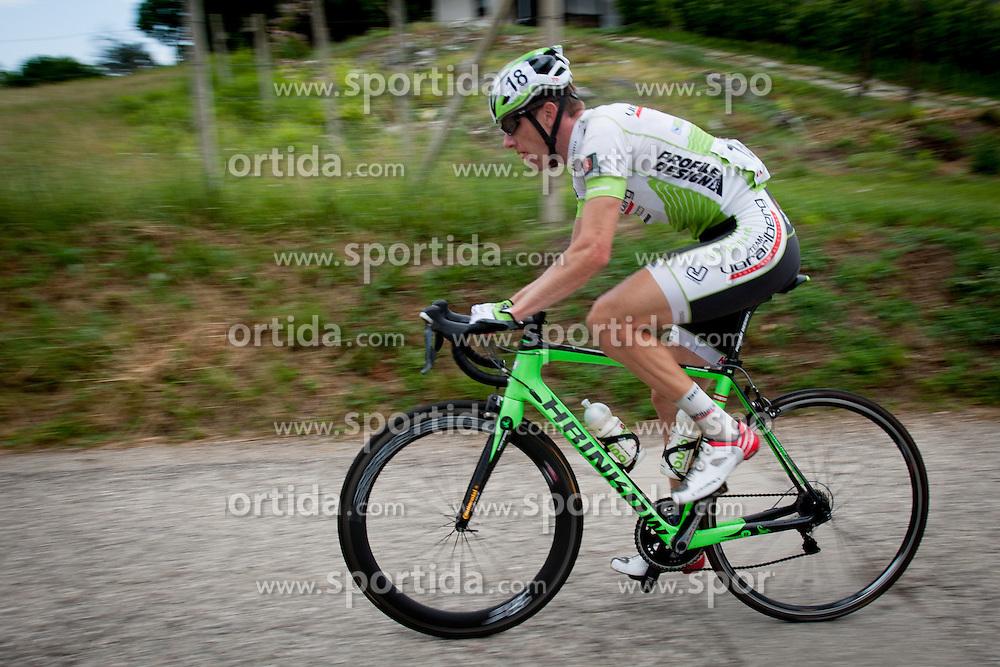 Bostjan Rezman of Team Vorarlberg during Slovenian National Championship in Road Cycling, on June 23, 2013, in Gabrje, Slovenia. (Photo by Urban Urbanc / Sportida.com)