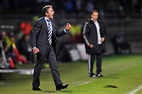 FOOTBALL - FRENCH CHAMPIONSHIP 2010/2011 - L1 - OLYMPIQUE LYONNAIS v LILLE OSC - 17/10/2010 - CLAUDE PUEL (COACH LYON)<br />  - PHOTO FRANCK FAUGERE / DPPI