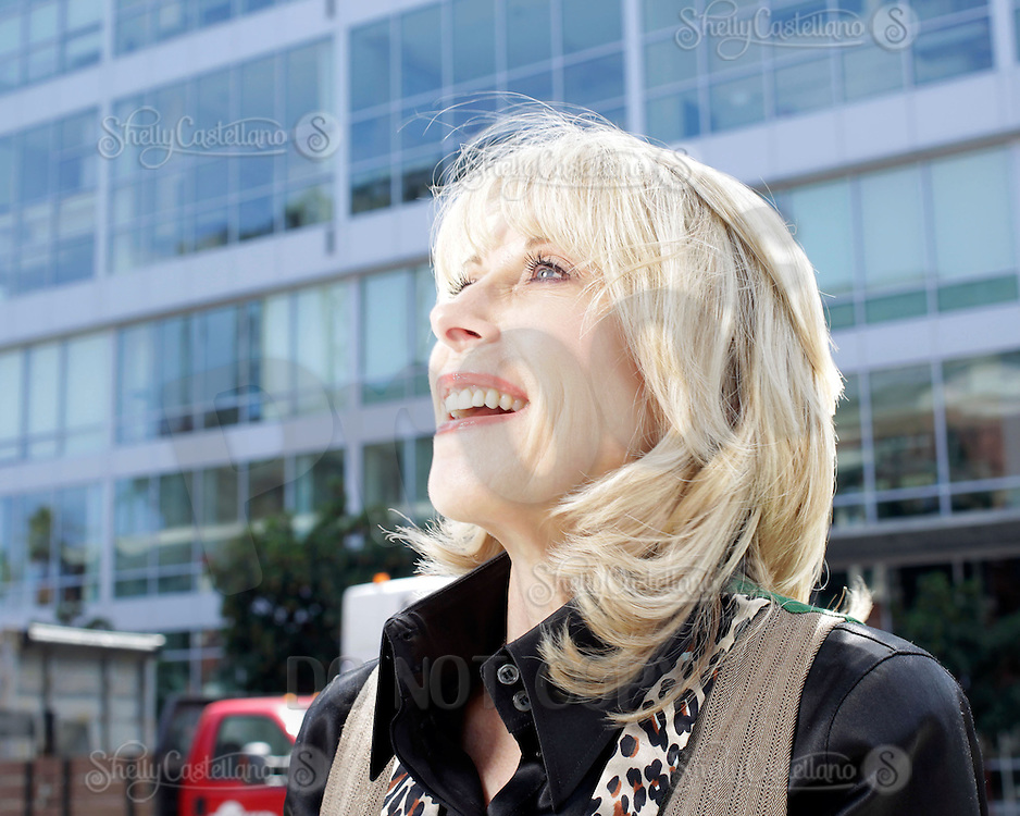 5 August 2013: Shelley Doran. Senior Vice President. Webcor Builders on location in San Francisco, California.