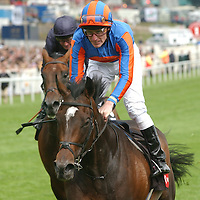 High Chaparral winning the 2002 Derby riden by J Murtagh