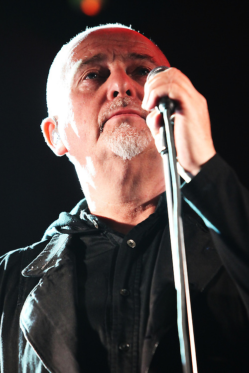 NEW YORK - MAY 02:  Peter Gabriel performs at Radio City Music Hall on May 2, 2010 in New York City.  (Photo by Roger Kisby/Getty Images)