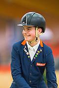 Marten Luiten - Movie Star<br /> KNHS Indoorkampioenschappen 2017<br /> © DigiShots
