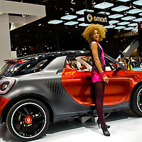 Smart Forstars Concept at the Paris Motor Show 2012