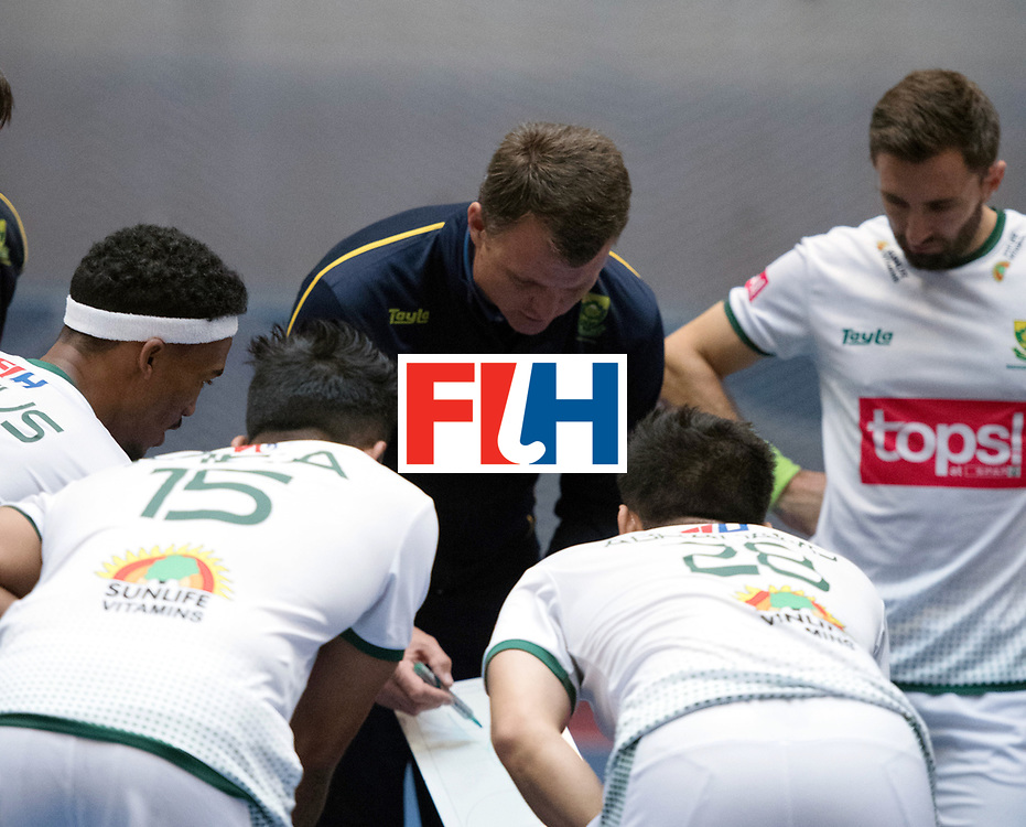 BERLIN - Indoor Hockey World Cup<br /> Kazakhstan - South Africa<br /> foto: LE ROUX Pierre<br /> WORLDSPORTPICS COPYRIGHT FRANK UIJLENBROEK