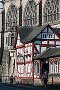 Alte Universität, alter Brauhaus, Altstadt, Marburg, Hessen, Deutschland | Old University, old brew house, old town, Marburg, Hesse, Germany