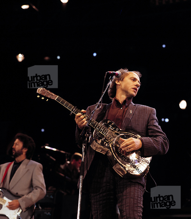 Dire Straits Mark Knopfler at Princes Trust concert 1988