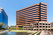 Courtyard And Corporate Buildings At Irvine Business Complex