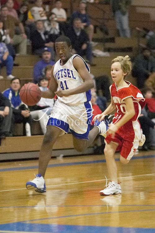 MCHS 8th Grade Boys Basketball..vs North Fork..Second Period..December 17, 2004