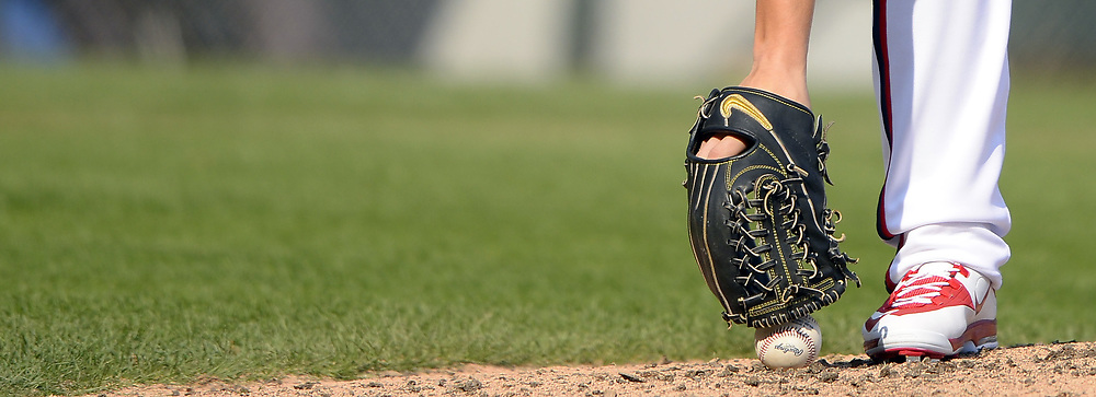 CHICAGO - SEPTEMBER 10:  A detailed closeup view of a Nike fielders glove as worn by Jace Fry #71 of the Chicago White Sox during the game against the San Francisco Giants on September 10, 2017 at Guaranteed Rate Field in Chicago, Illinois.  The White Sox defeated the Giants 8-1.  (Photo by Ron Vesely) Subject:   Jace Fry