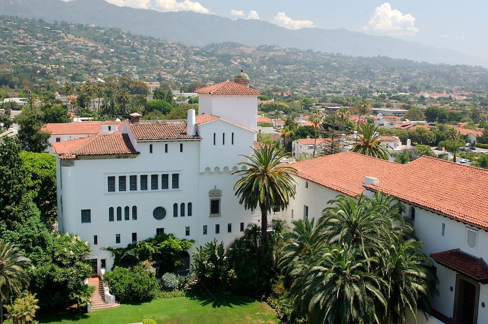 County Courthouse, Downtown, Santa Barbara, California, United States of America
